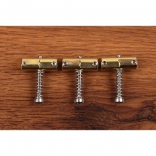 Callaham 3 Enhanced Compensated Brass Saddles Vintage Bridge Cryo