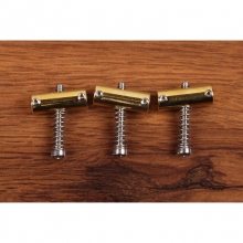 Callaham 3 Slant Compensated Brass Saddles Vintage Bridge
