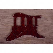 Pickguard S-Style HSS Brown Tortoise