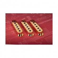 Single Coil Pickup Cover Gold