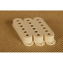 Single Coil Pickup Cover in Vintage Cream