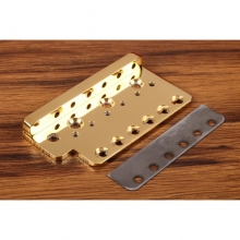 Wudtone CP Tremolo Bridge Plate - The Holy Grail Gold MIM...